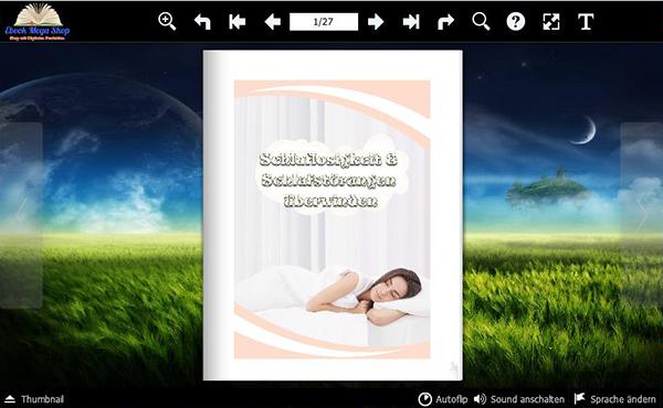 Schlaf-Flipbook